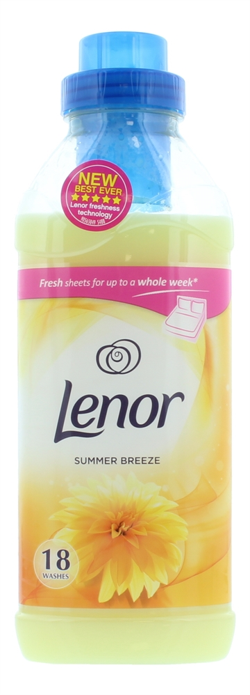 Lenor 630ml Fabric Conditioner Summer 18 Wash