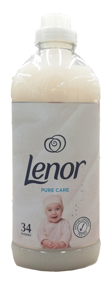 Lenor 1.19L Fabric Conditioner Pure Care 34 Wash