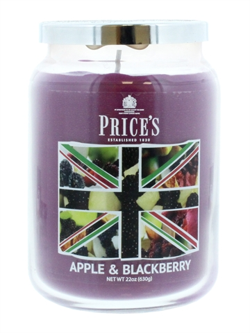 Price'S 630G Candle Large Apple & Black