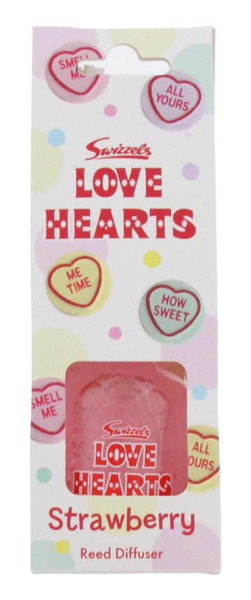 Swizzels 50ml Reed Diffuser Love Hearts
