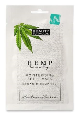 Beauty Formulas Organic Hemp 1Pk