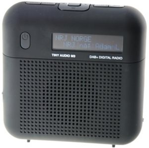 Tiny Audio M3 DAB+ radio, Black