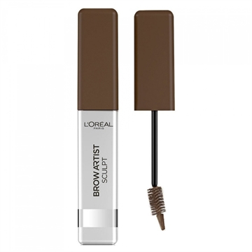 L'Oréal Paris Make-Up Designer Brow Artist Sculpt 04 Dark Brun Augenbrauen-Mascara Braun