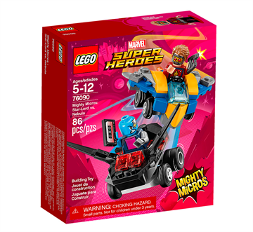 Lego Super Heroes 76090 Mighty Micros - Star-Lord vs. Nebula