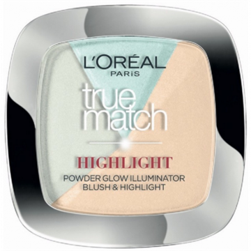 L'Oreal  TRUE MATCH POWDER HIGHLIGHT 302 ICY GLOW 9G