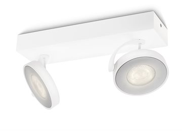 Philips Dimmbare LED Clockwork Doppelspot
