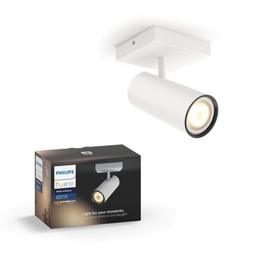 Philips Hue White ambience Buratto Einzelspot ext.