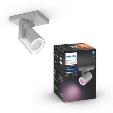 Philips Hue White and Color ambiance Argenta 1er-Spot
