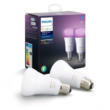 Philips Hue White and Color ambiance Doppelpack E27