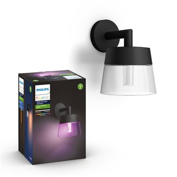 Philips Hue White and Color ambiance Attract Outdoor Wandleuchte