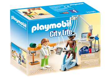 Playmobil Beim Facharzt - Physiotherapeut 70195