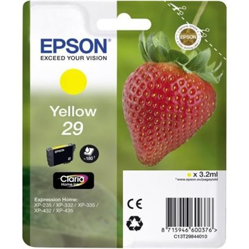 Epson Tintenpatrone 29, Xp235 Yellow