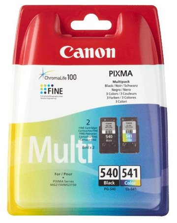 Canon PG-540/CL-541 Multipack Tintenpatrone, 180 sider