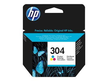 Hp Tintenpatrone N9K05Ae Cmy Color 304