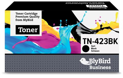 Brother TN-423BK Sort Lasertoner, 6.500 sider Kompatibel