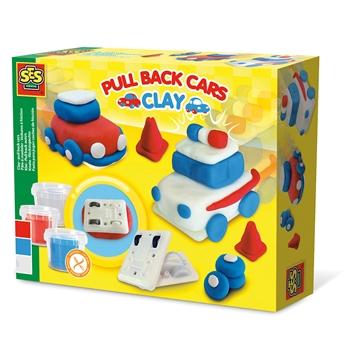 Clay - pull back cars
