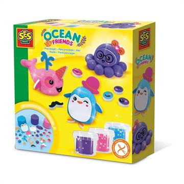 Play dough - Ocean friends