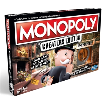 MONOPOLY CHEATERS EDITION DK