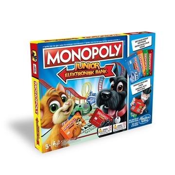 MONOPOLY JUNIOR ELECTRONIC BANKING DK/NO