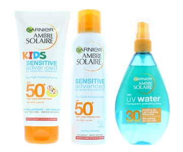 Garnier Ambre Solaire Sun Cream For Kids And Adults Spf30/Spf50