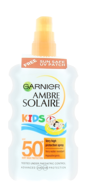 Garnier Ambre Solaire 200ml Kids Spray Very High Spf 50+