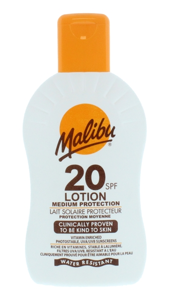 Malibu Spf20 Lotion 200ml