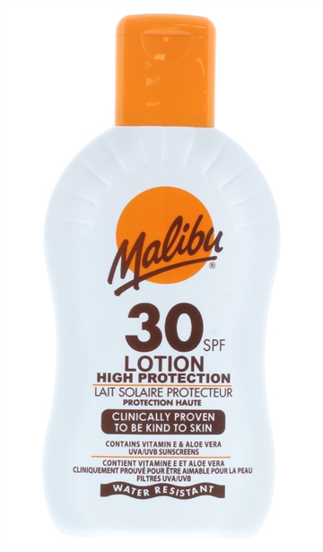Malibu 200ml Spf 30 Lotion