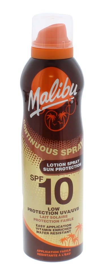 Malibu Spf10 Continuous Spray  175ml
