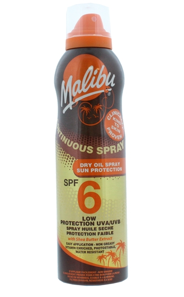Malibu Spf6 Cont Dry Spray  175ml