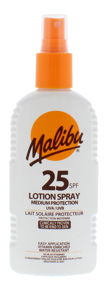 Malibu Spf25 Lotion Spray 200ml