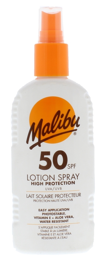 Malibu Spf50 Lotion Spray 200ml