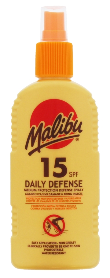Malibu Spf15 & Insect Spray  200ml