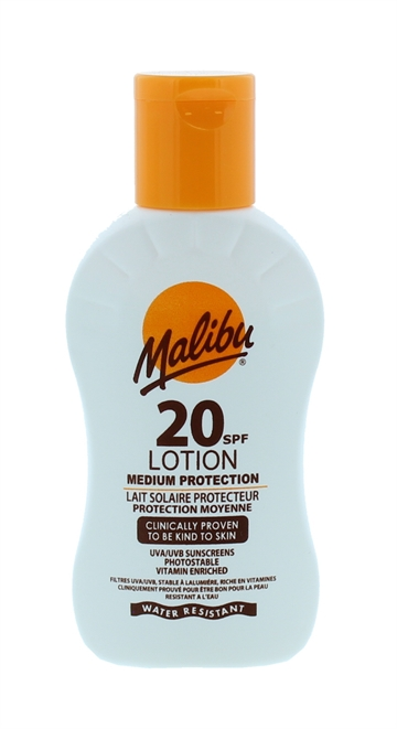 Malibu Spf20 Lotion Spf 100ml