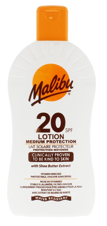 Malibu Spf20 Sun Lotion 400ml