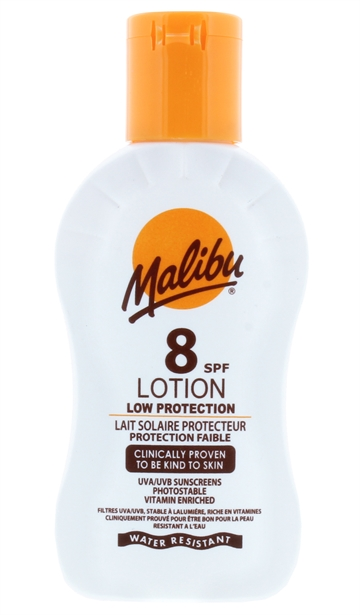 Malibu 100ml Spf 8 Lotion