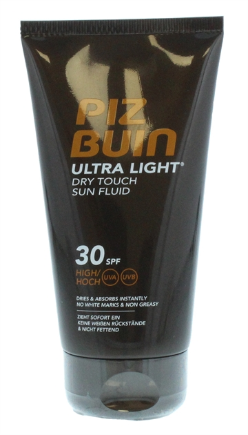 Piz Buin 150ml Ultra Light Dry Touch Sun Fluid Spf30