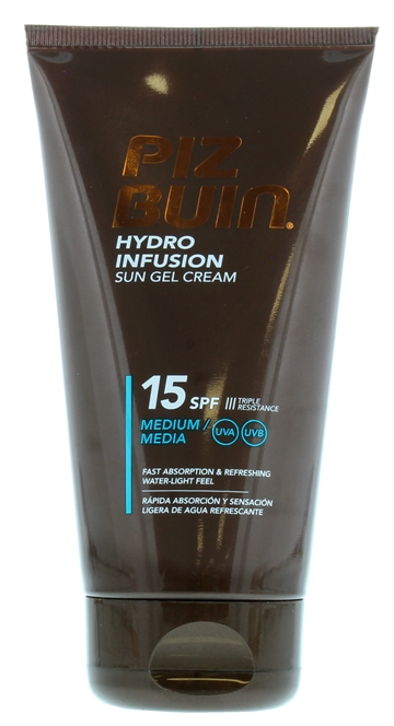 Piz Buin 150ml Hydro Infusion Sun Gel Cream Spf15