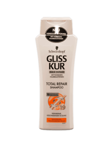 Schwarzkopf Gliss Kur Total Repair Shampoo 2 x 250 ml