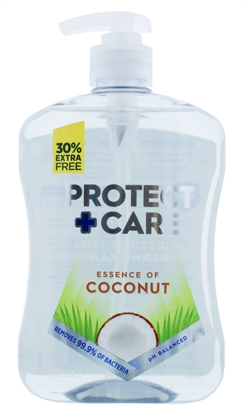 Astonish 650ml Antibacterial Handwash Protect + Care Coconut