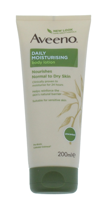 Aveeno Daily 200ml Body Lotion Oatmeal