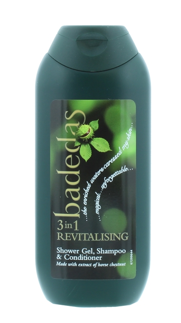 Badedas 200ml 3In1 Shower Gel Revitalise