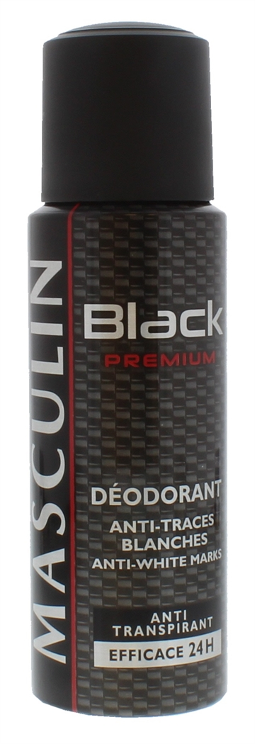 Bourjois 200ml Deo Spray Black Premium