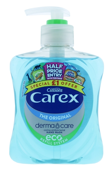 Carex 250ml Hand Wash Original Pmp £1
