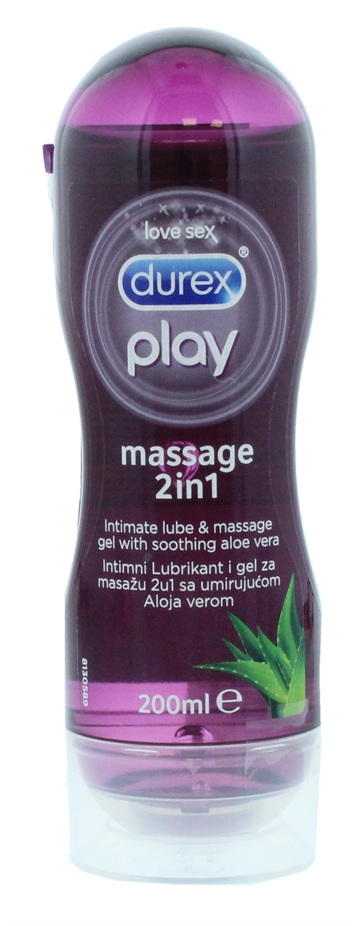 DUREX PLAY GEL  2IN1 ALOE 200ML