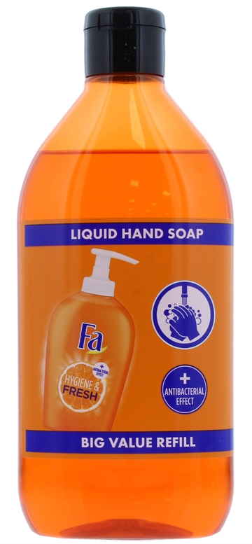 Fa 385ml Hand Wash Refill Fresh Orange