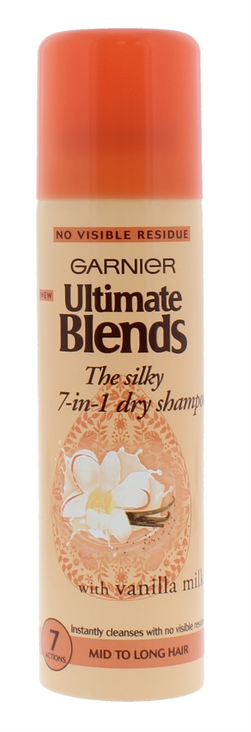 GARNIER ULTIMATE BLENDS SILKY 7-IN-1 DRY SHAMPOO 150ml