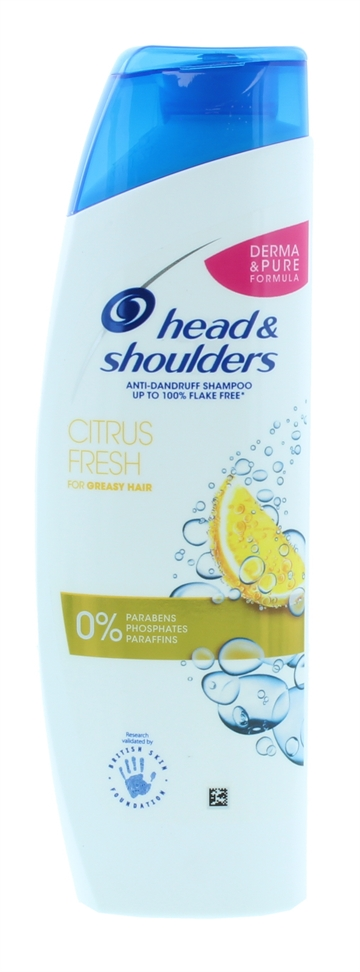 HEAD&SHOULDERS CITRUS FRESH SHAMPOO 250ML