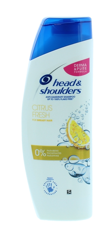 HEAD&SHOULDERS CITRUS FRESH SHAMPOO 280ML