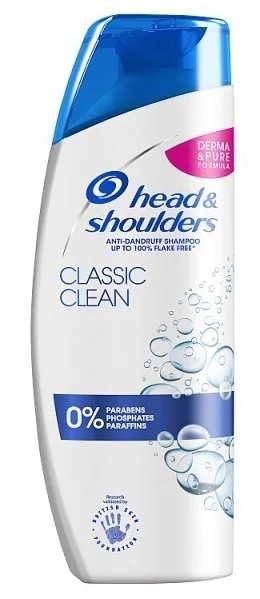 Head & Shoulders 270ml Shampoo Classic Clean