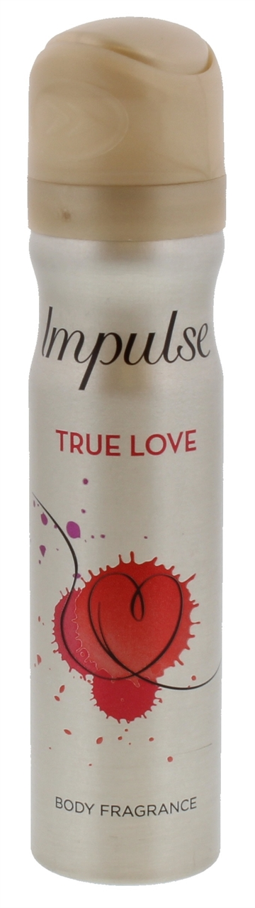 Impulse Body Spray True Love Deodorant 75ml